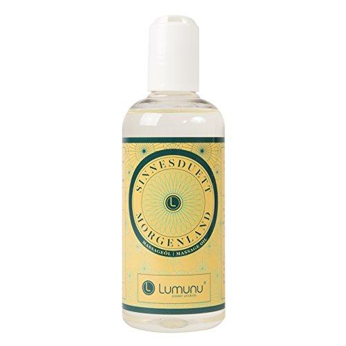 Olio da massaggio erotico (250ml) con profumo dolce e afrodisiaco, olio...