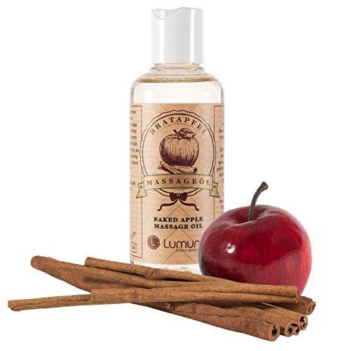 Olio per Massaggi Erotici al profumo invernale e afrodisiaco di mela e...